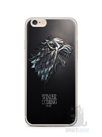 Capa Iphone 6/S Plus Game Of Thrones Stark