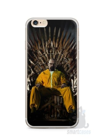 Capa Iphone 6/S Plus Heisenberg Game Of Thrones