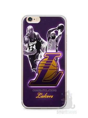 Capa Iphone 6/S Plus Lakers