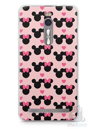 Capa Zenfone 2 Mickey e Minnie