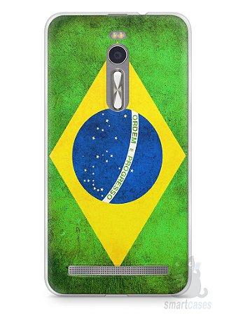 Capa Zenfone 2 Bandeira do Brasil