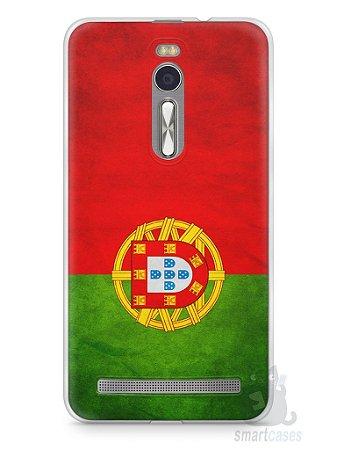 Capa Zenfone 2 Bandeira de Portugal