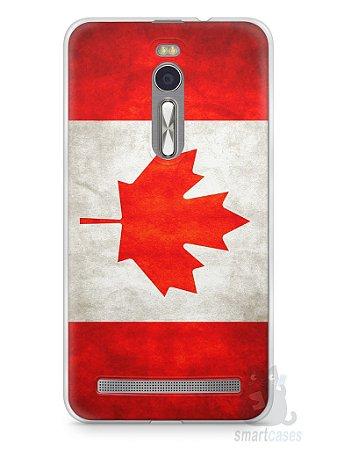 Capa Zenfone 2 Bandeira do Canadá