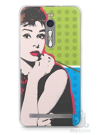 Capa Zenfone 2 Audrey Hepburn #3