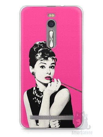 Capa Zenfone 2 Audrey Hepburn #4