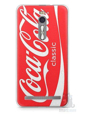 Capa Zenfone 2 Coca-Cola