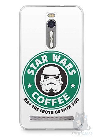 Capa Zenfone 2 Star Wars Coffee