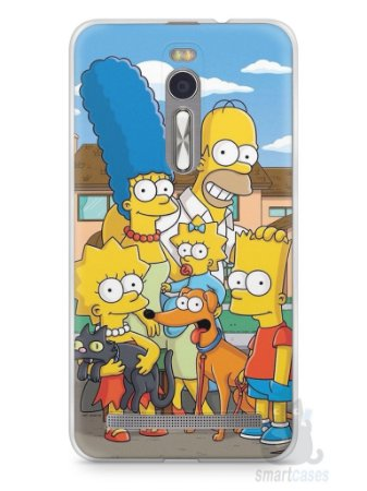 Capa Zenfone 2 Família Simpsons #1