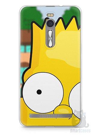 Capa Zenfone 2 Bart Simpson Face