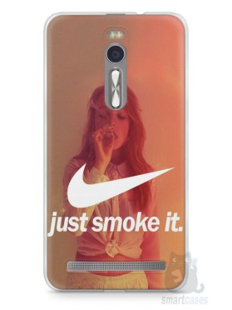 Capa Zenfone 2 Just Smoke It