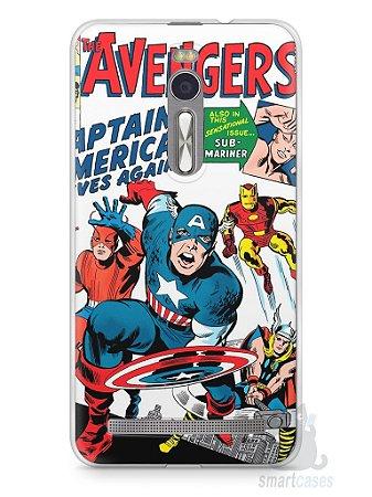 Capa Zenfone 2 The Avengers