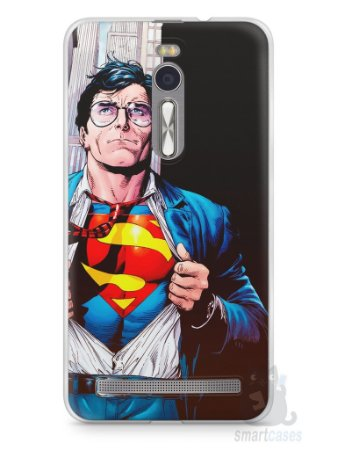 Capa Zenfone 2 Super Homem #1