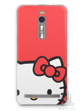 Capa Zenfone 2 Hello Kitty
