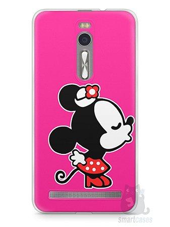 Capa Zenfone 2 Mickey e Minnie Beijo