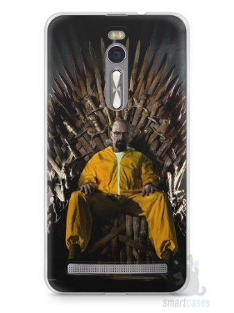 Capa Zenfone 2 Heisenberg Game Of Thrones