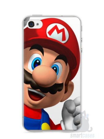 Capa Iphone 4/S Super Mario #1
