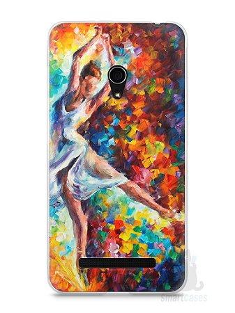 Capa Zenfone 5 Bailarina Pintura