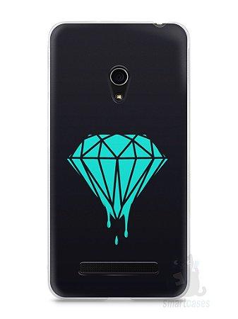 Capa Zenfone 5 Diamante Azul