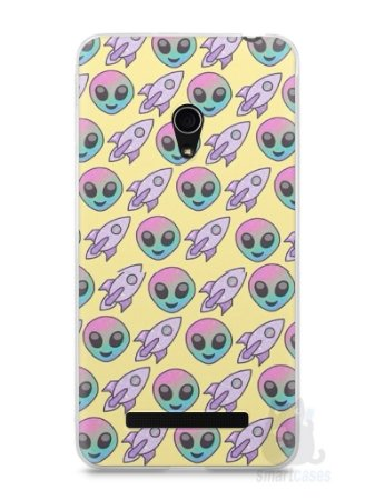 Capa Zenfone 5 Aliens e Foguetes
