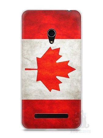 Capa Zenfone 5 Bandeira do Canadá