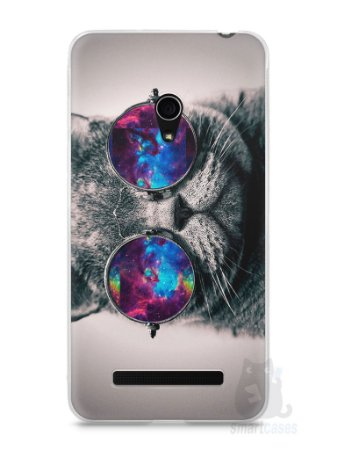 Capa Zenfone 5 Gato Galáxia #1