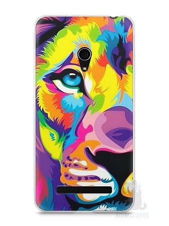 Capa Zenfone 5 Leão Colorido #1