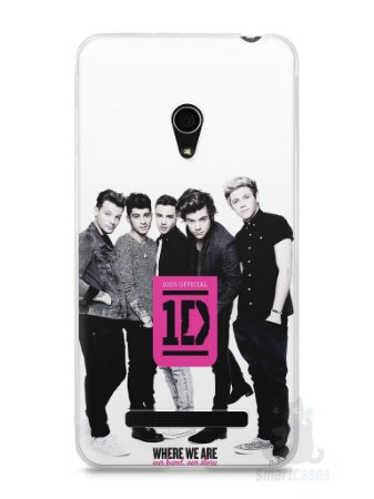 Capa Zenfone 5 One Direction #2