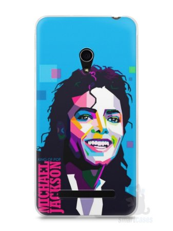 Capa Zenfone 5 Michael Jackson #2
