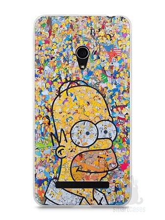 Capa Zenfone 5 Homer Simpson Comic Books