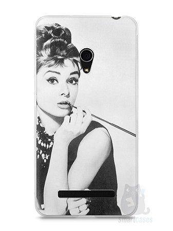 Capa Zenfone 5 Audrey Hepburn #1