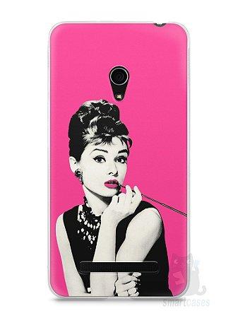 Capa Zenfone 5 Audrey Hepburn #4