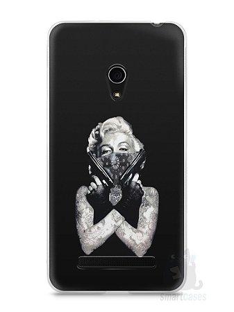 Capa Zenfone 5 Marilyn Monroe #5