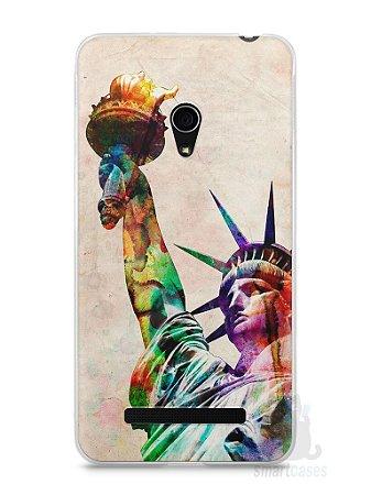Capa Zenfone 5 Estátua da Liberdade Colorida