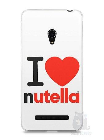 Capa Zenfone 5 I Love Nutella