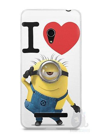 Capa Zenfone 5 I Love Minions