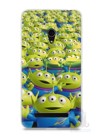 Capa Zenfone 5 Aliens Toy Story #2