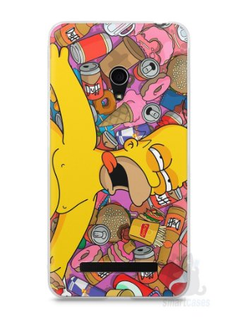 Capa Zenfone 5 Homer Simpson Bêbado