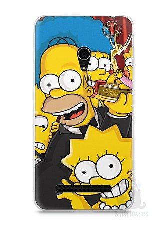 Capa Zenfone 5 Família Simpsons #2