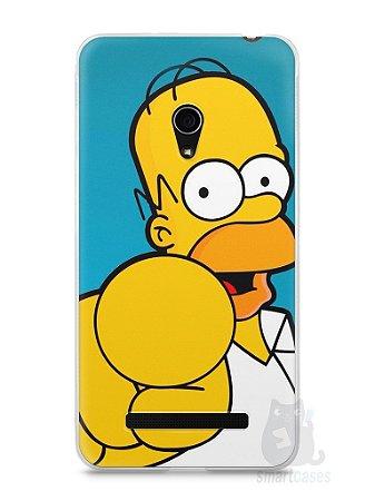 """Capa Zenfone 5 Homer Simpson """"Escolho Você"""""""