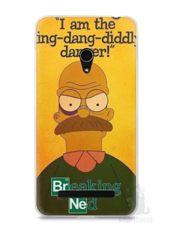 Capa Zenfone 5 Homer Simpson Breaking Bad