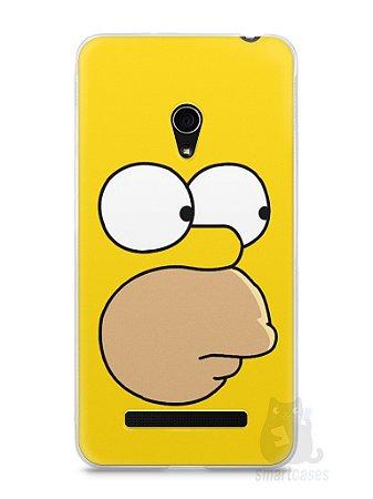 Capa Zenfone 5 Homer Simpson Face