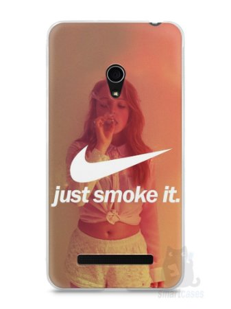 Capa Zenfone 5 Just Smoke It