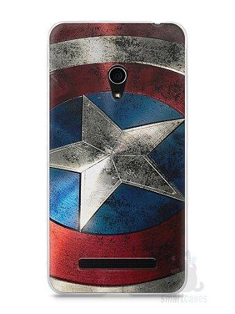Capa Zenfone 5 Escudo Capitão América