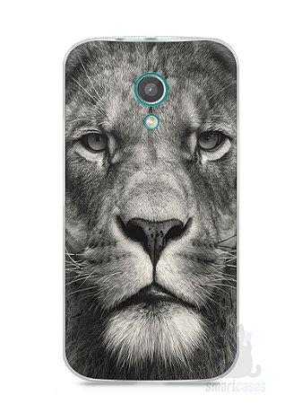 Capa Moto G2 Leão Face