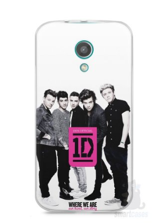 Capa Moto G2 One Direction #2