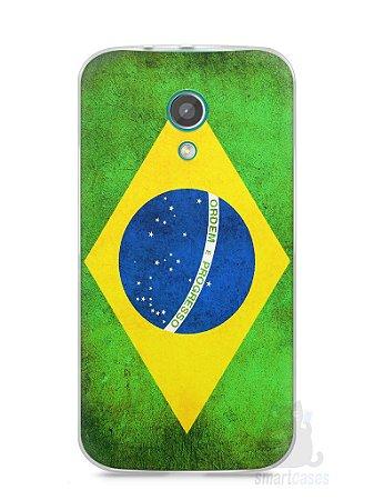 Capa Moto G2 Bandeira do Brasil