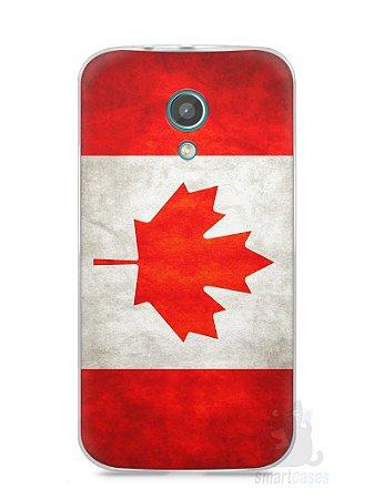 Capa Moto G2 Bandeira do Canadá