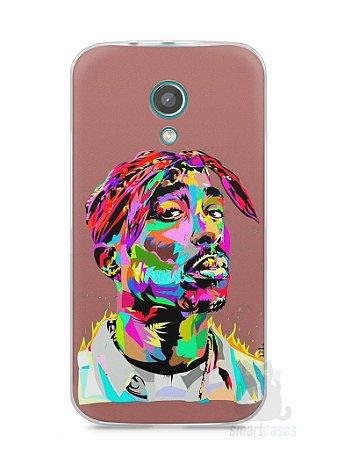 Capa Moto G2 Tupac Shakur #4