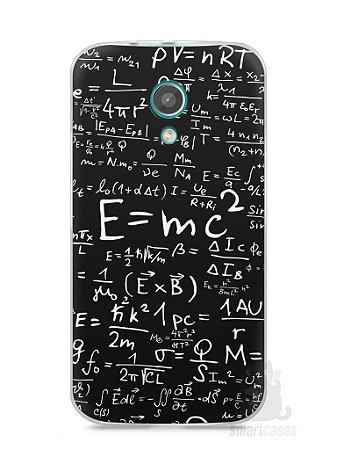 Capa Moto G2 Teoria da Relatividade Einstein