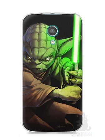 Capa Moto G2 Yoda Star Wars